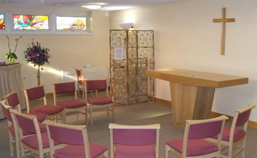 Chapel at Queen Elizabeth The Queen Mother Hosptial