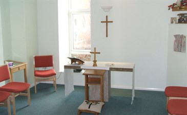 Chapel at William Harvey Hosptial