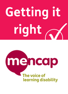 Mencap and Getting it Right logos