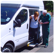 Patient Transport offered by East Kent Hospitals