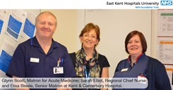 Regional Chief Nurse visits our hospitals