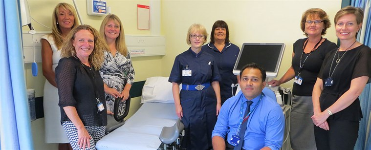 A new Gynaecology Assessment Unit (GAU) opened on 3 August 2015 at the William Harvey Hospital, Ashford