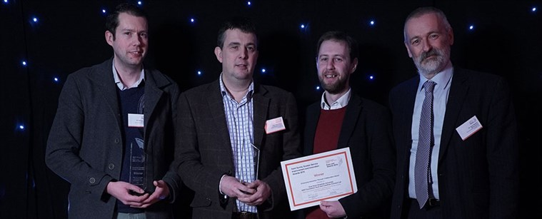 EKHUFT and Careflow Connect Ltd won the award for their real-time communication, alerting and referrals system across multi-disciplinary teams.