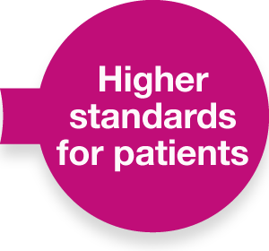 Transformation journey 300x280 Higher standards for patients