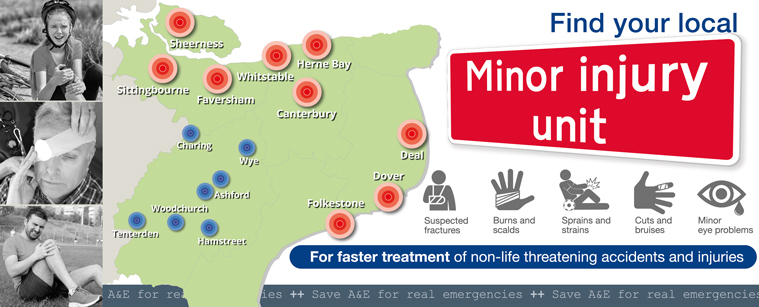 Get to know your local Minor Injuries Unit