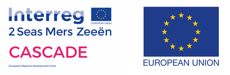 CASCADE logo with EU Flag