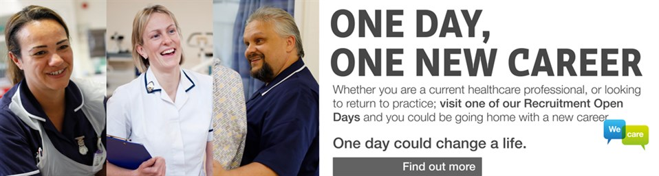 Recruitment Open Days at East Kent Hospitals