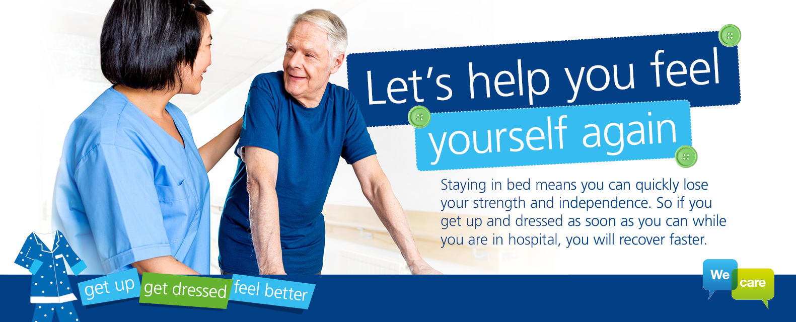 Let's help you feel yourself again banner