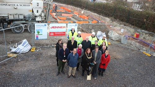 Ground-breaking at Harmonia