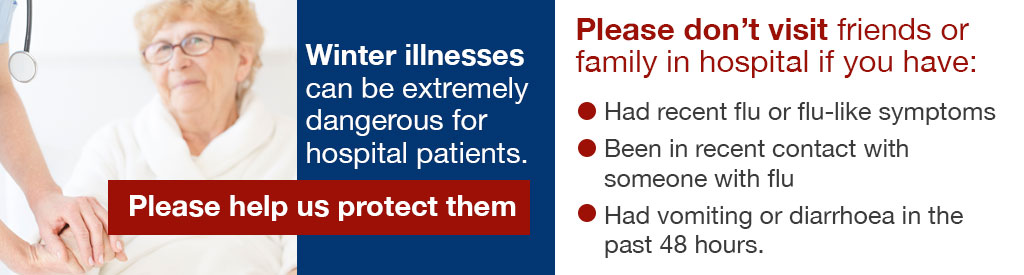 Protecting our patients from winter illnesses