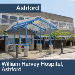 Apply for a position at William Harvey Hospital, Ashford